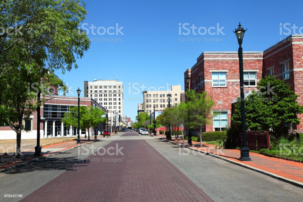 Alexandria Louisiana stock photo