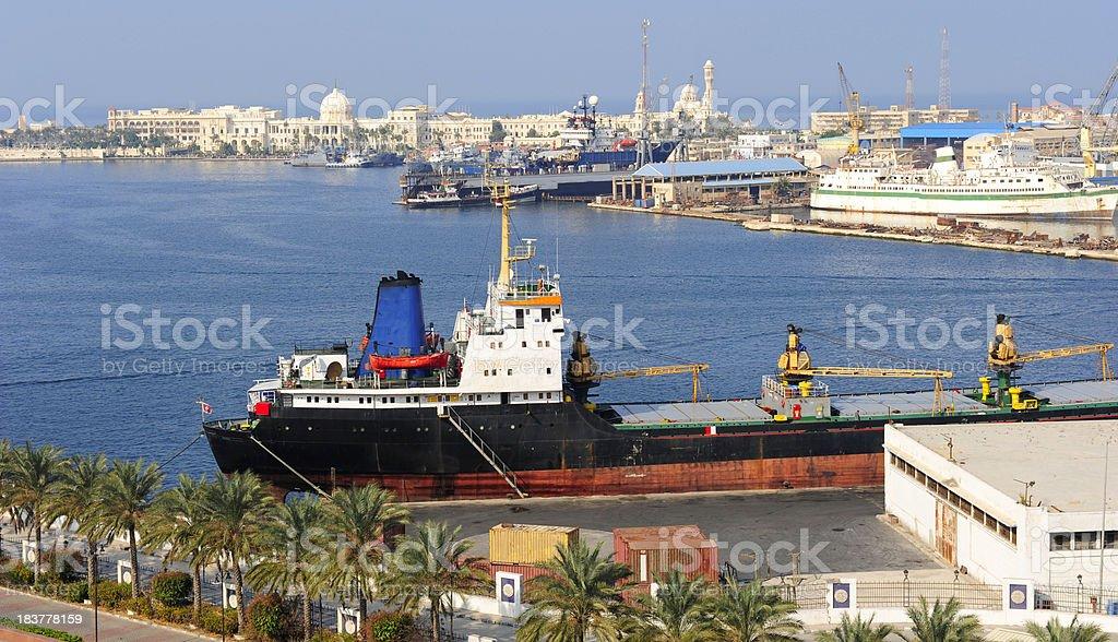 Porto de Alexandria - foto de acervo
