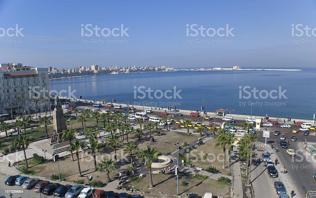 Alexandria, Egito série de turismo - foto de acervo