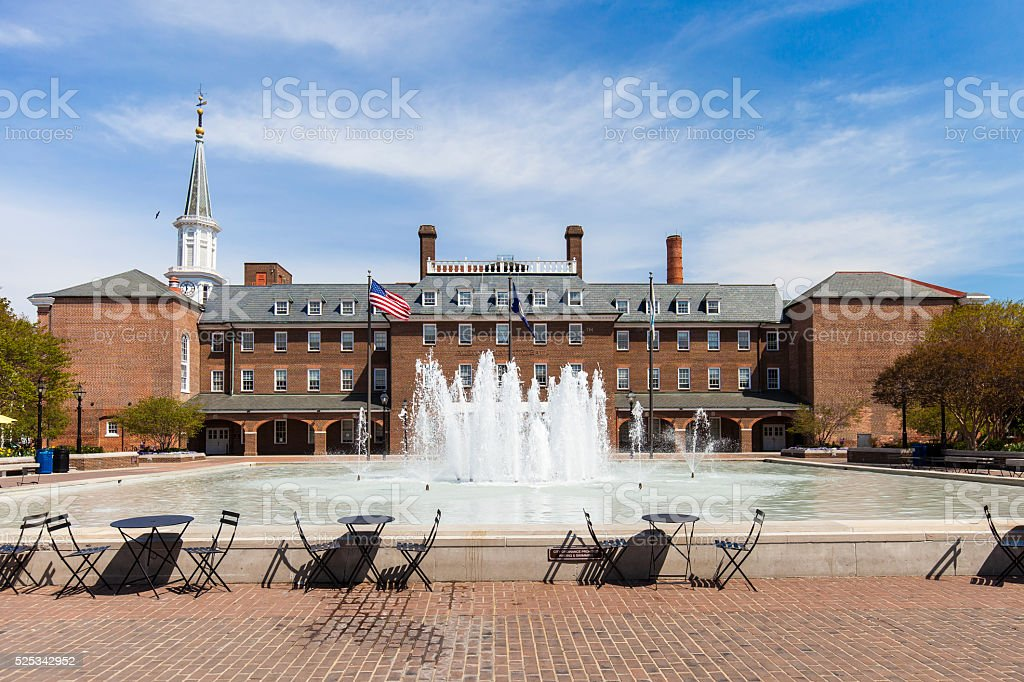 Alexandria, Virginia City Hall stock photo