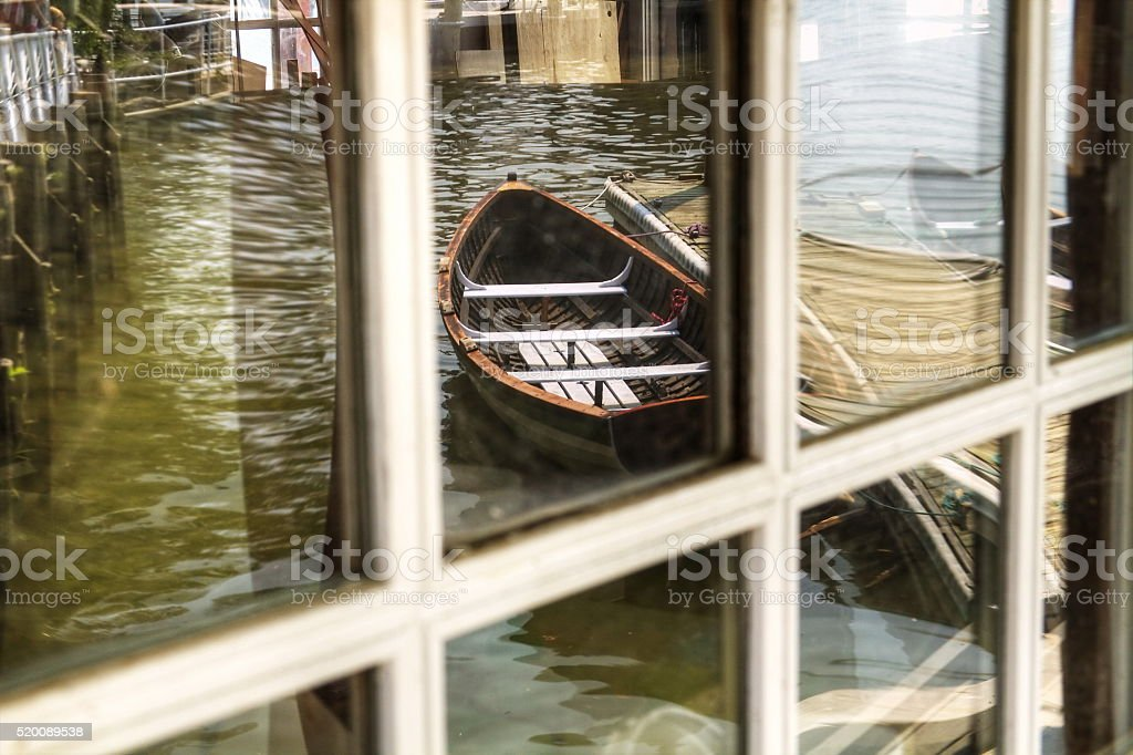 Alexandria Virginia Waterfront stock photo