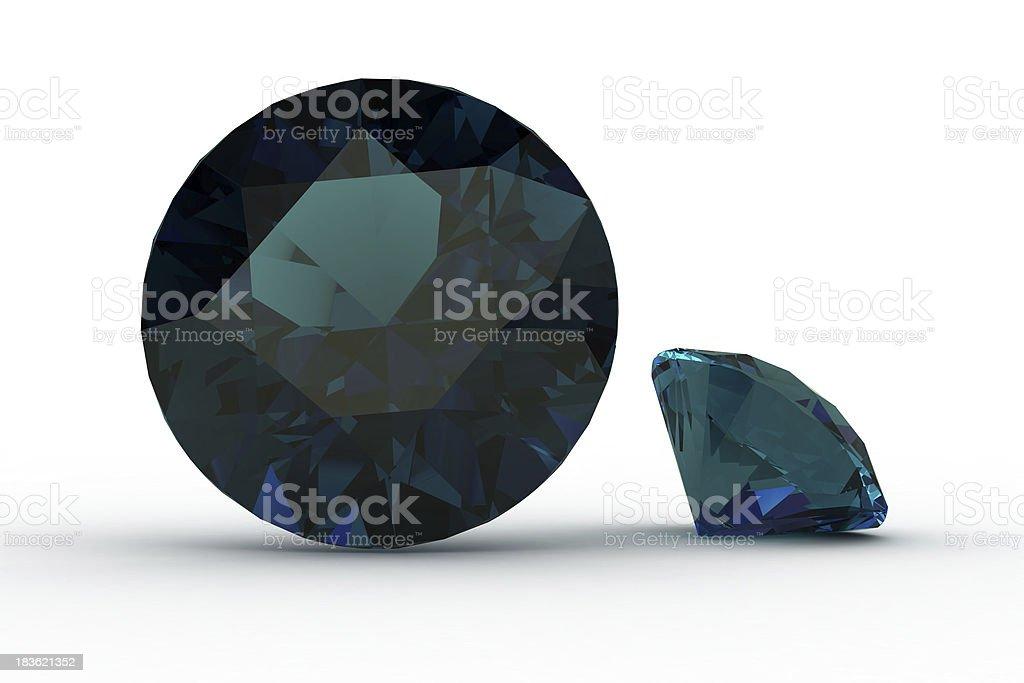 alexandrite stock photo