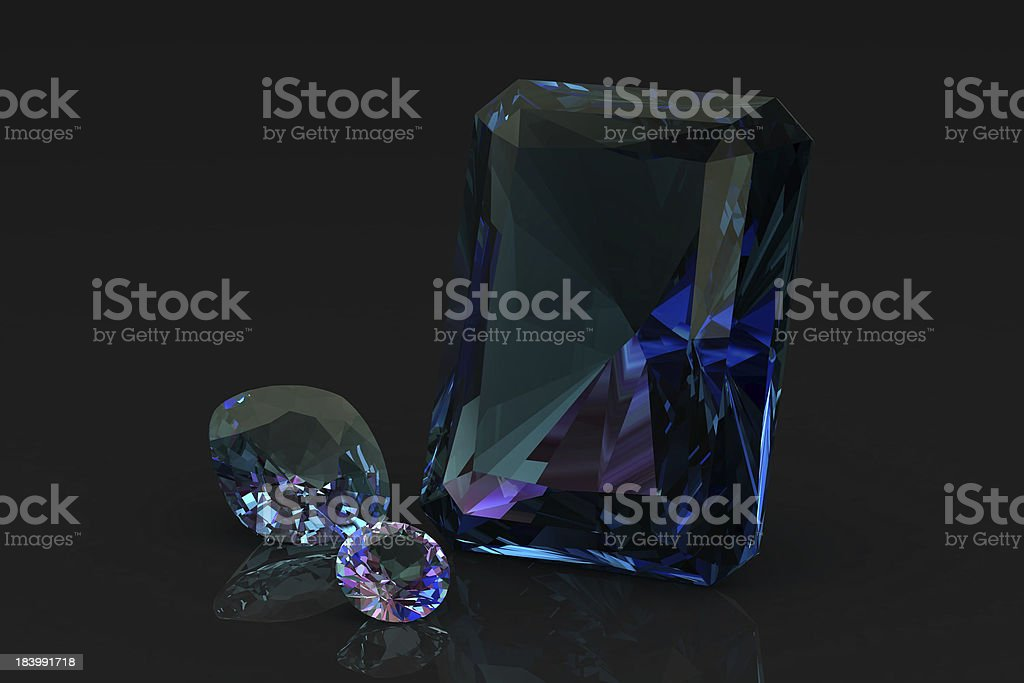 alexandrite royalty-free stock photo