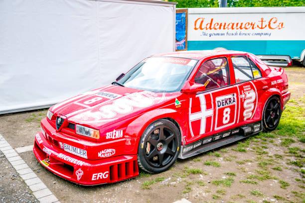 Alfa Romeo 155 V6 TI DTM touring racing car - foto stock