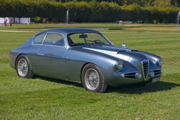 Alfa Romeo 1900 SS Zagato stock photo
