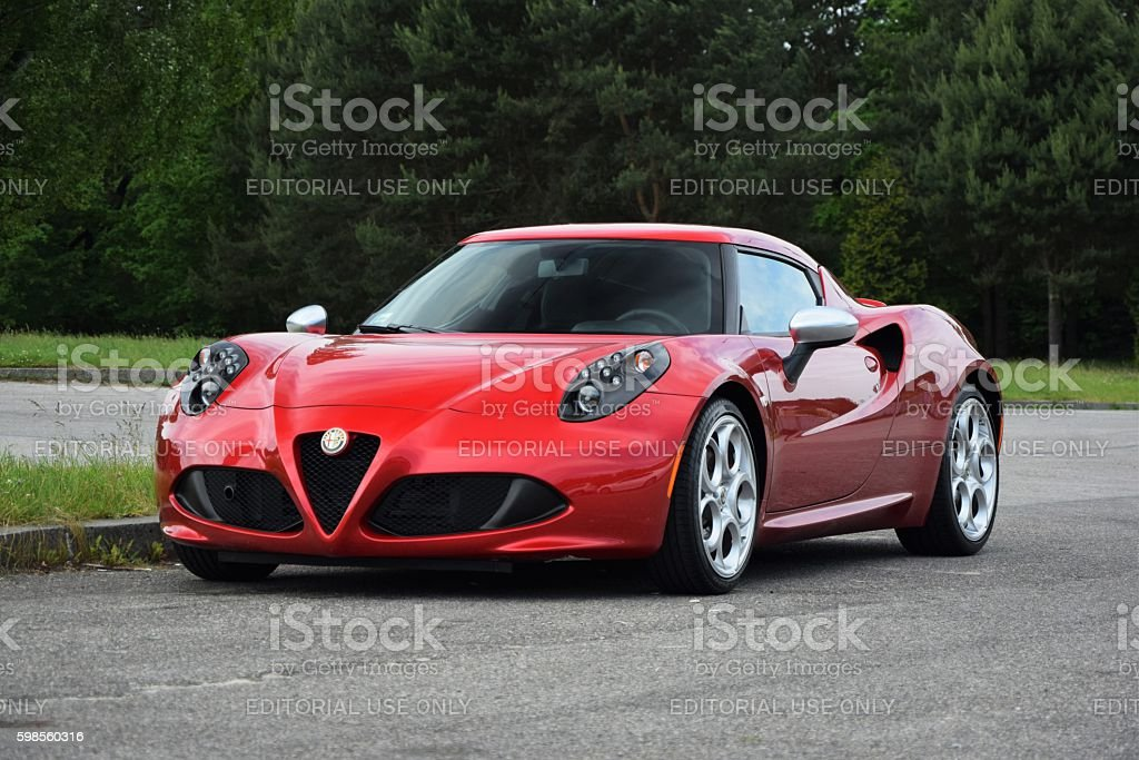 Alfa Romeo 4C on the street – Foto