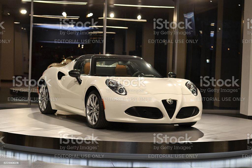 Alfa Romeo 4C Spider-moderne italienische Coupé – Foto