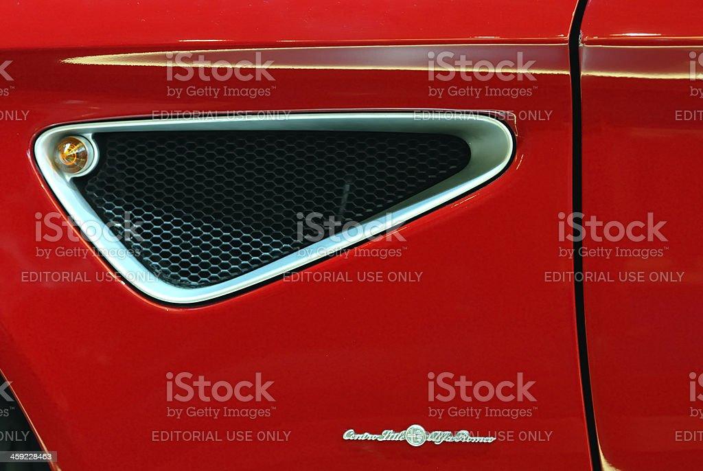Alfa Romeo 8C Spyder stock photo