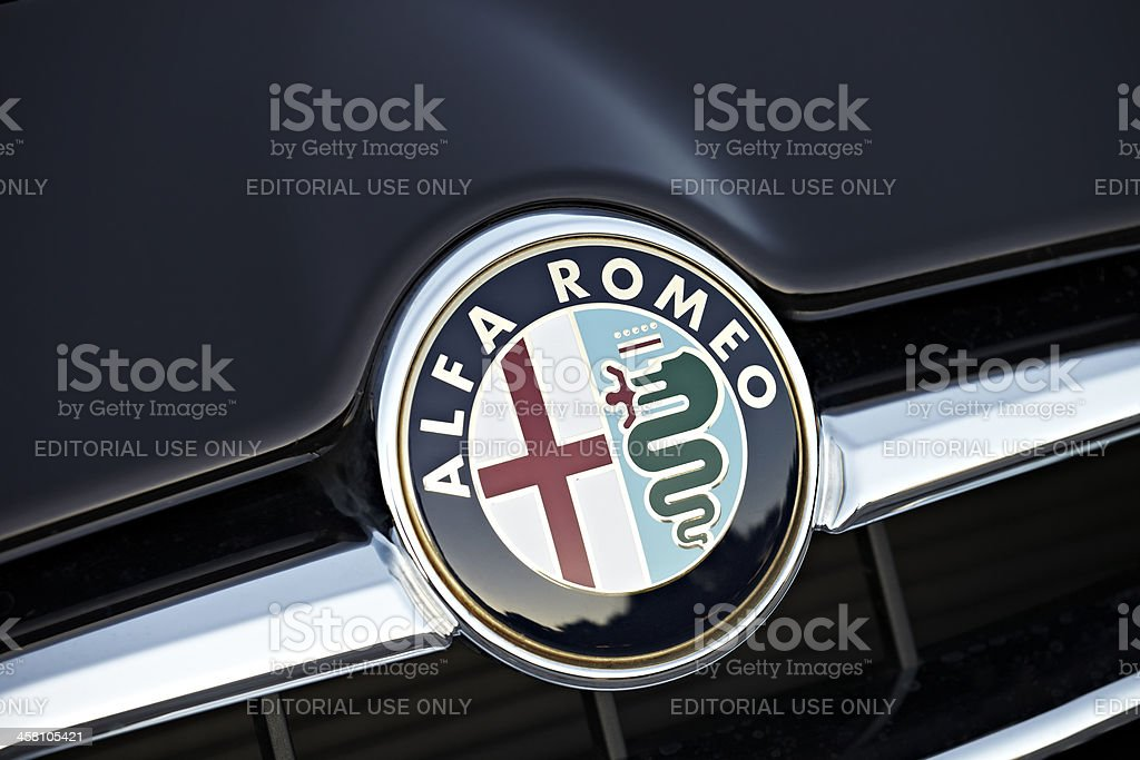 Alfa Romeo Badge Stock Photo More Pictures Of Alfa Romeo Istock