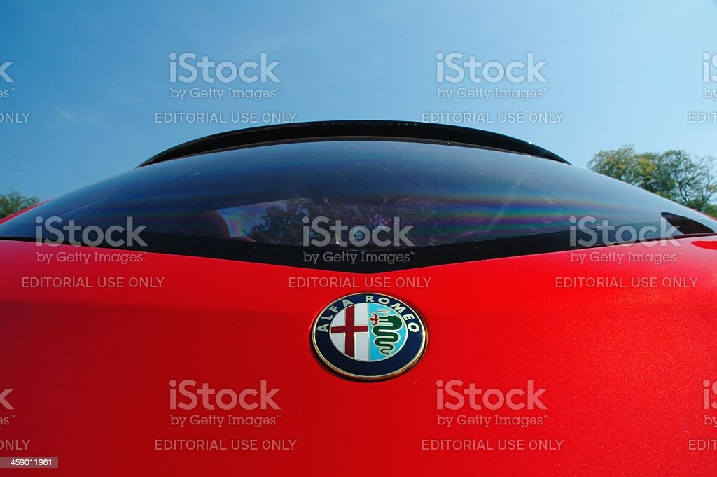 Alfa Romeo Brera detail royalty-free stock photo