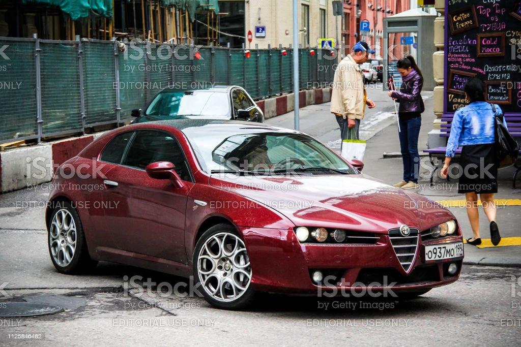 Alfa Romeo Brera - foto stock