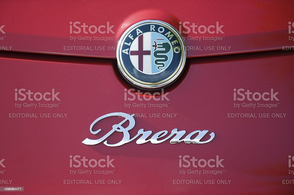 Alfa Romeo Brera stock photo