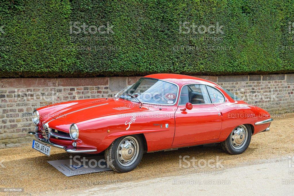 Alfa Romeo Giulietta Sprint Speciale stock photo