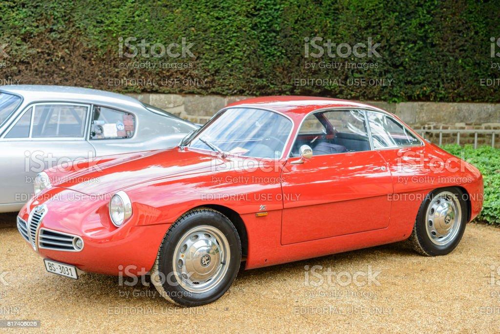 Alfa Romeo Giulietta Sprint Zagato stock photo