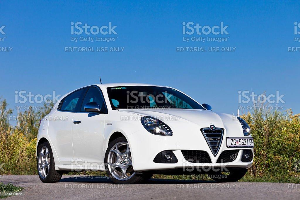 Alfa Romeo Giulietta TCT stock photo