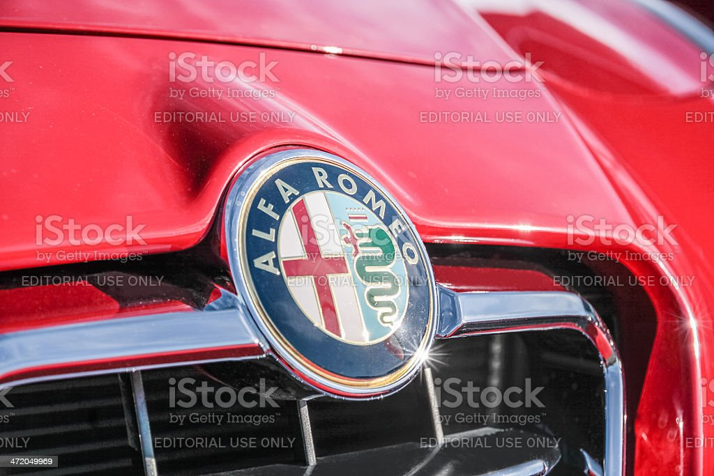 Alfa Romeo Logo Stock Photo Download Image Now Istock