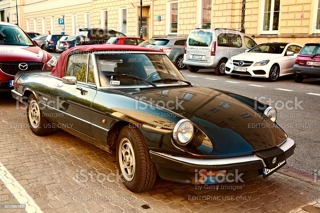Alfa Romeo Spider Aerodinamica – Foto