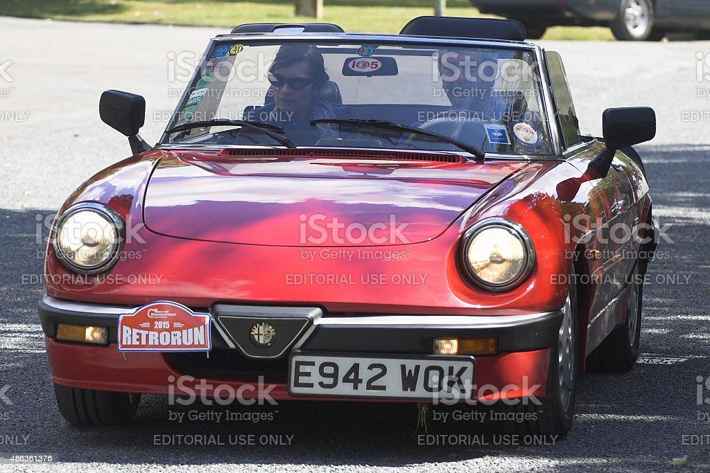 Alfa Romeo Spider Oldtimer – Foto