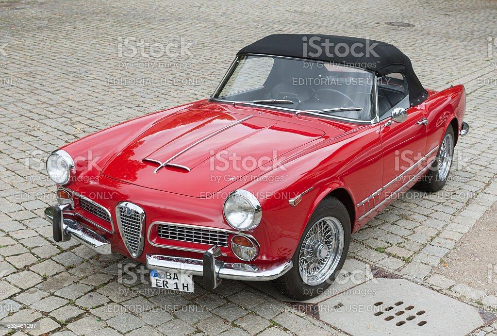 Alfa Romeo Spider Classic Car – Foto