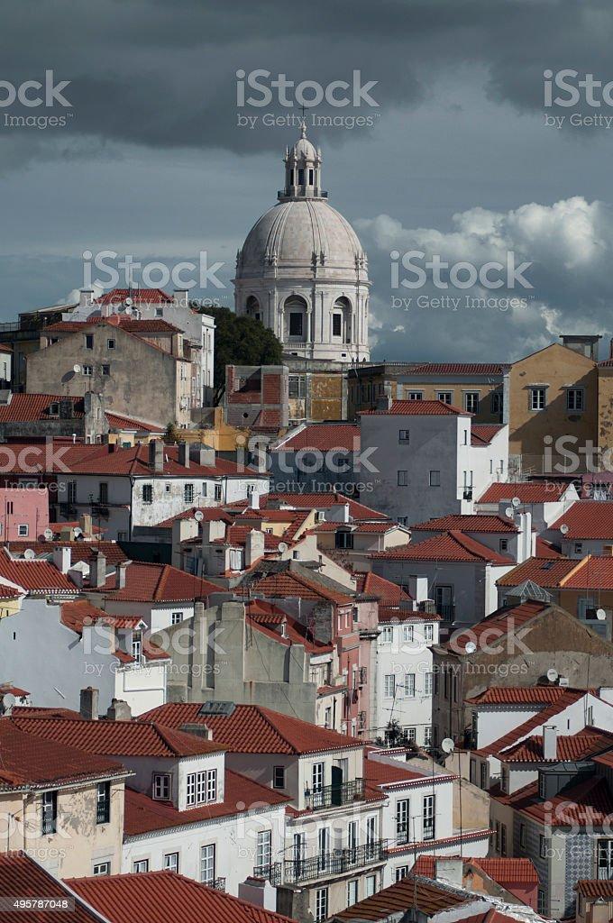 Alfama, Lissabon stock photo