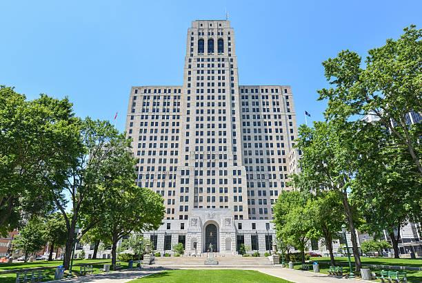 Alfred E. Smith Building, Albany, NY stock photo