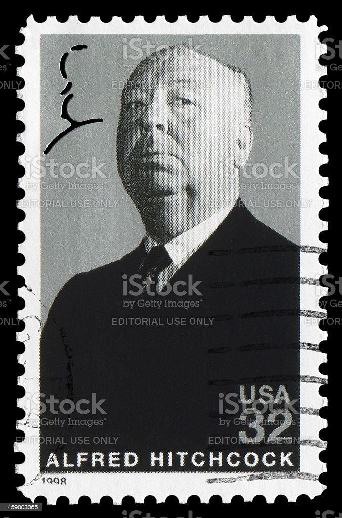 Alfred Hitchcock (XXLarge) royalty-free stock photo