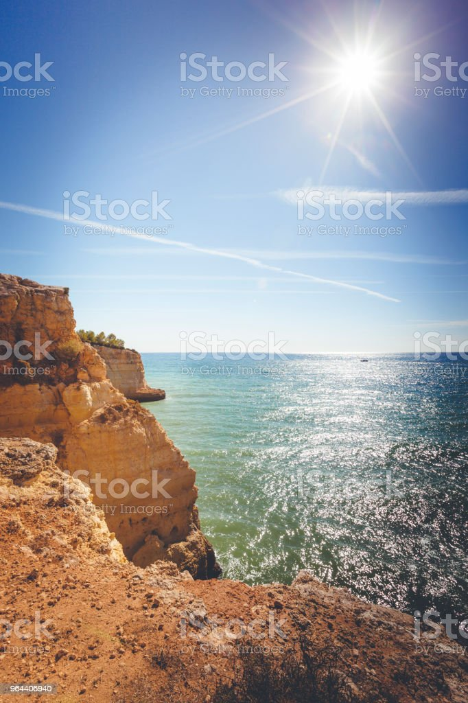 algarve coastline in portugal - Royalty-free Algarve Stock Photo