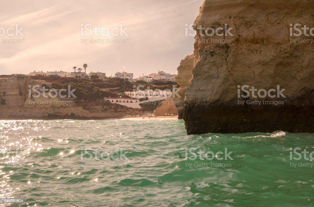 Algarve, Portugal. stock photo