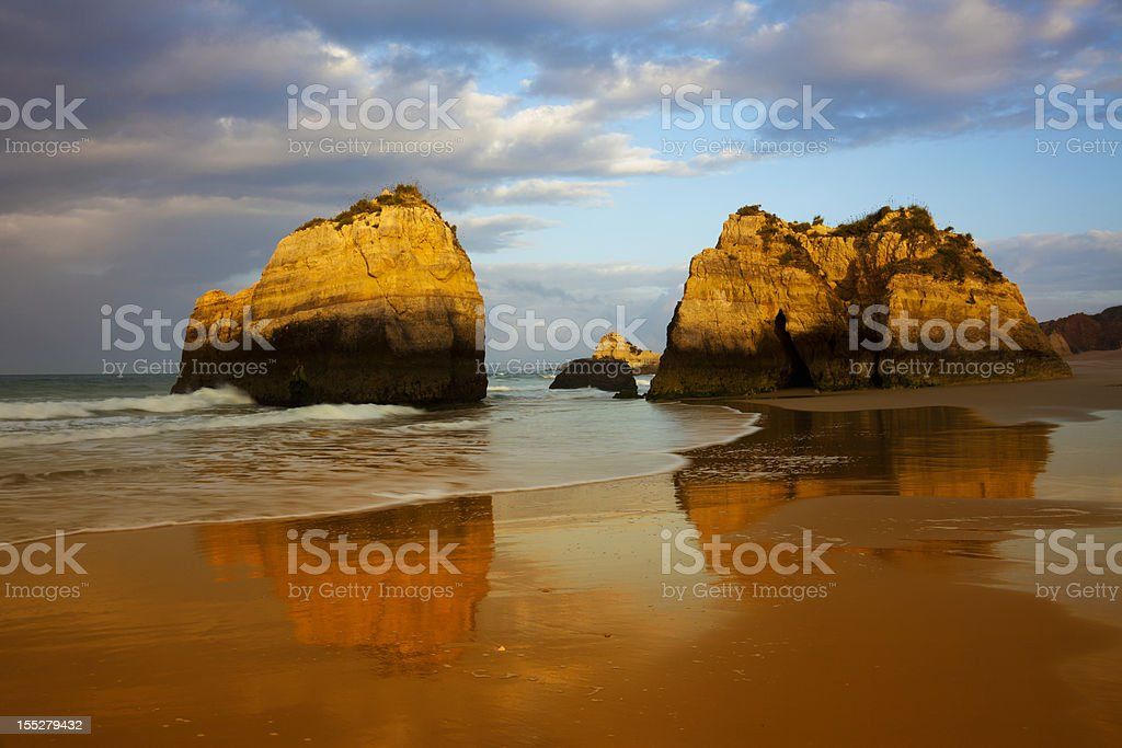 Algarve sunrise royalty-free stock photo