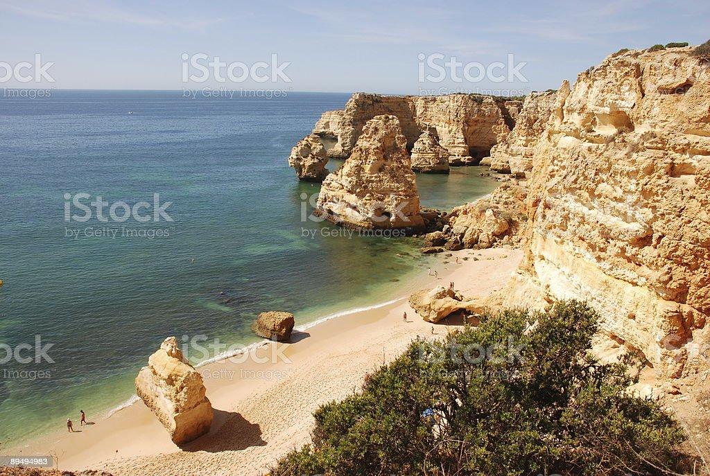 Algarve - Portugal royalty free stockfoto