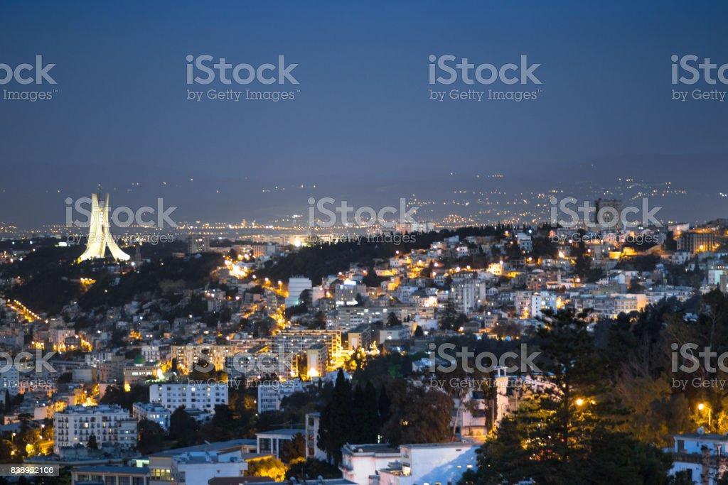 Alger par nuit - Photo