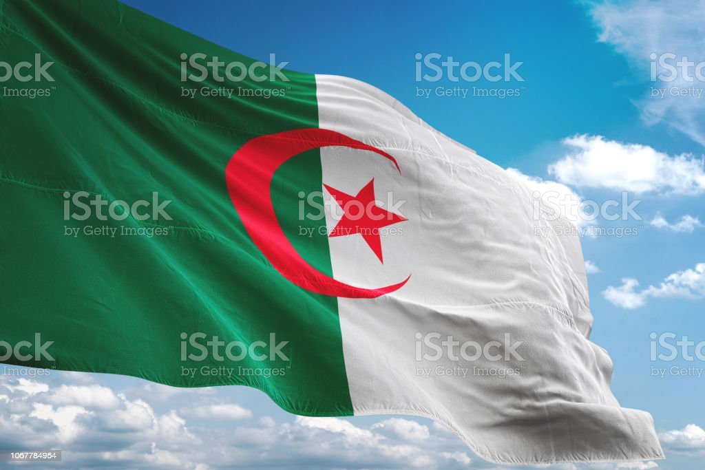 Algerie Drapeau drapeau algerie - photos et images libres de droits - istock