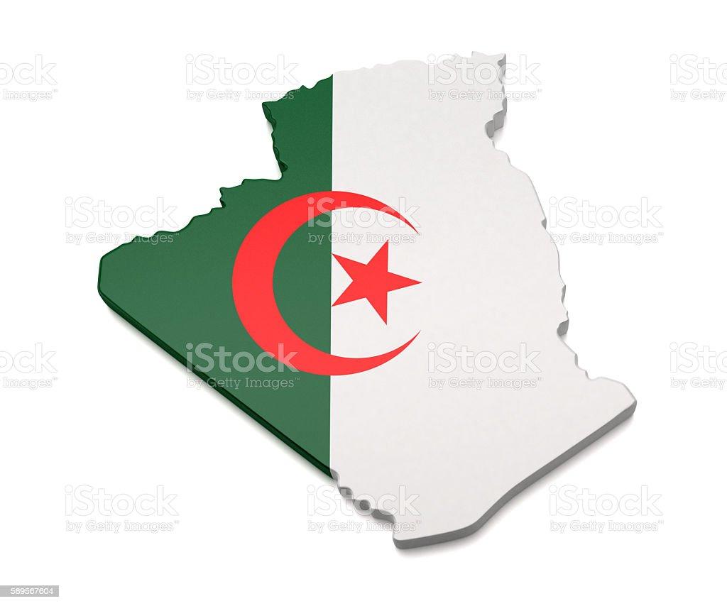 L'Algérie carte - Photo