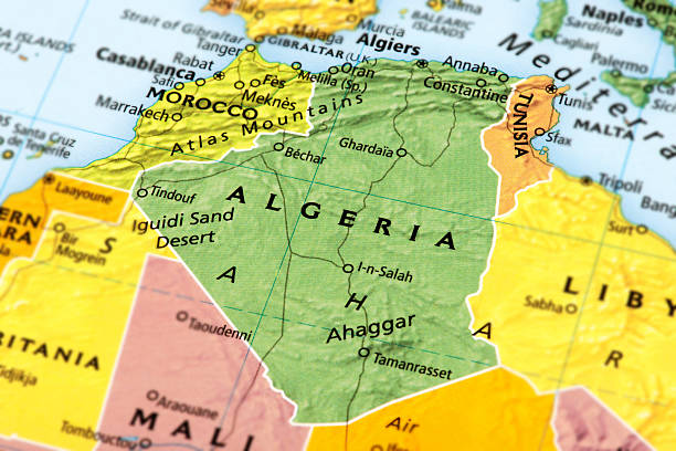 algeria - algeria stock photos and pictures