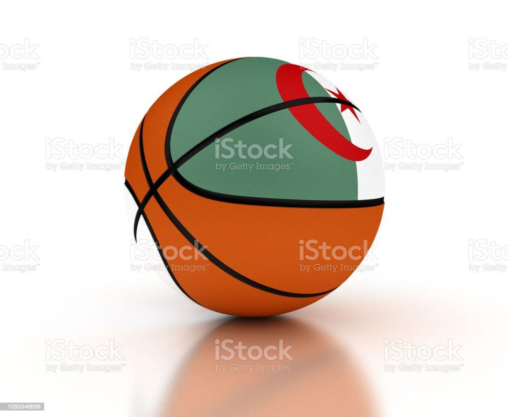 Equipo de baloncesto Argelia - foto de stock