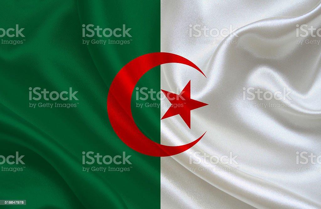 Bandera argelina - foto de stock