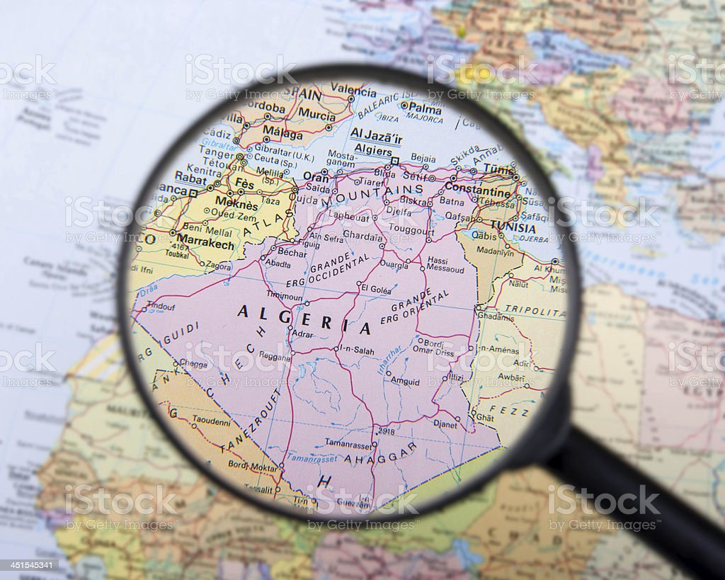 Algeria,North Africa stock photo