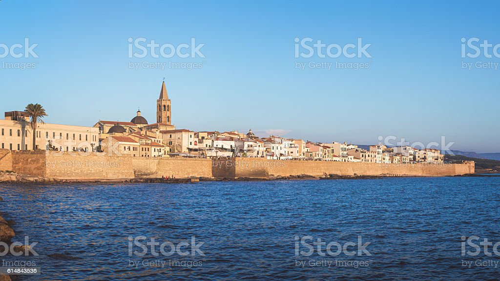 Alghero, Sardinia, Italy stock photo