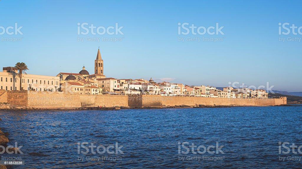Alghero, Sardegna, Italia - foto stock