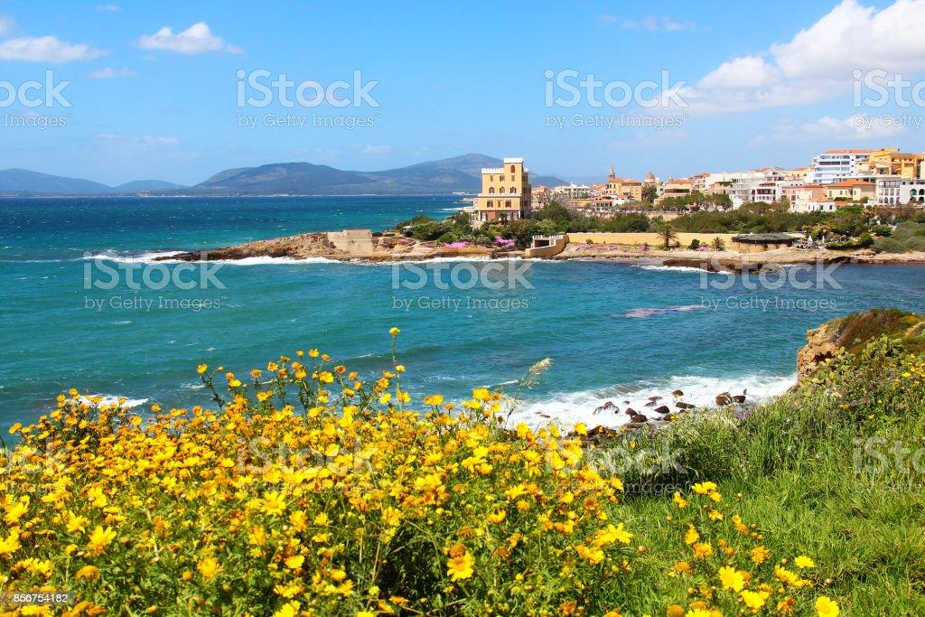 Alghero, Sardinia, Italy - foto stock