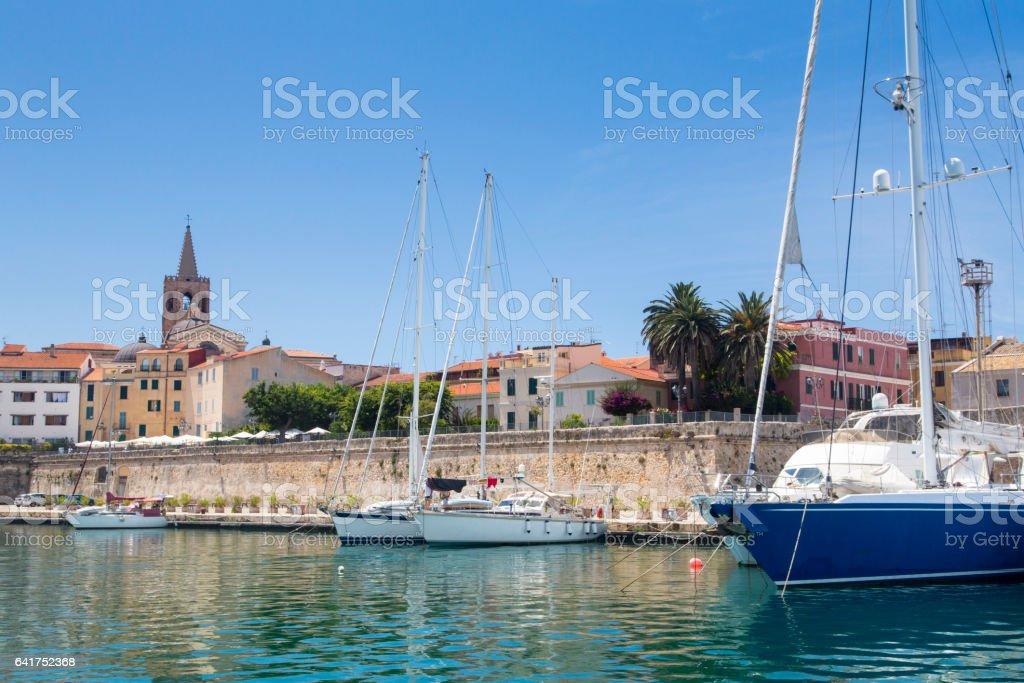 Alghero, Sardinia - foto de stock