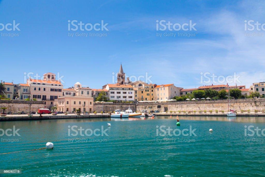 Alghero, Sardinia - foto stock
