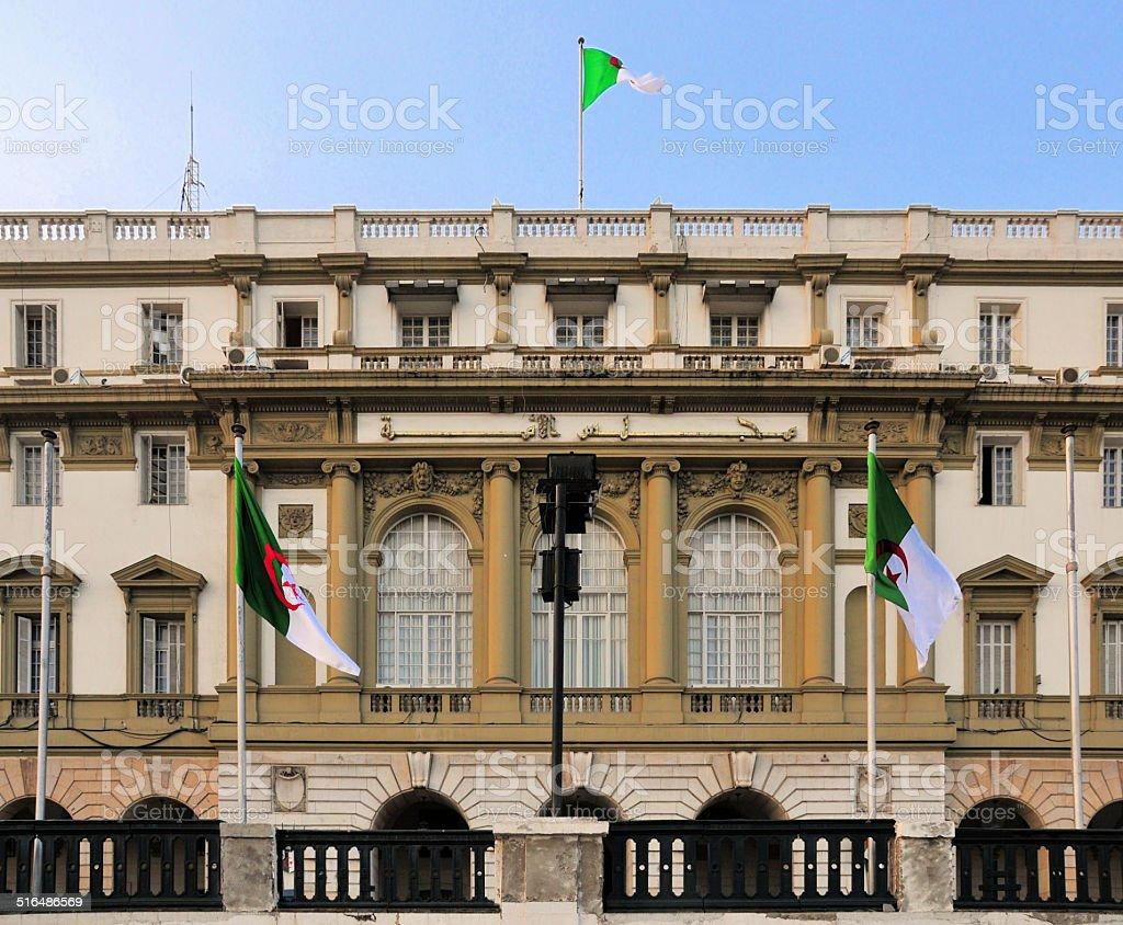 Alger, Algérie: Algérienne le Parlement, le Sénat - Photo