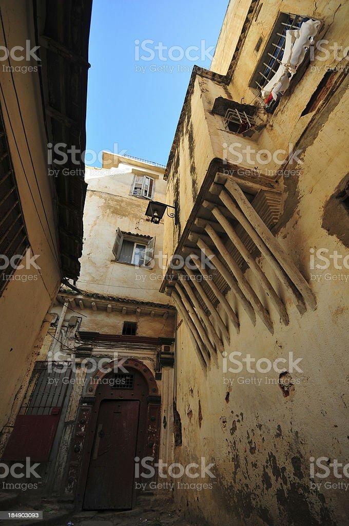 Algiers, Algeria: alley in the casbah stock photo