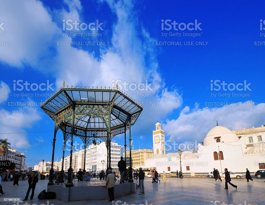 Algiers, Algeria: Martyrs square stock photo