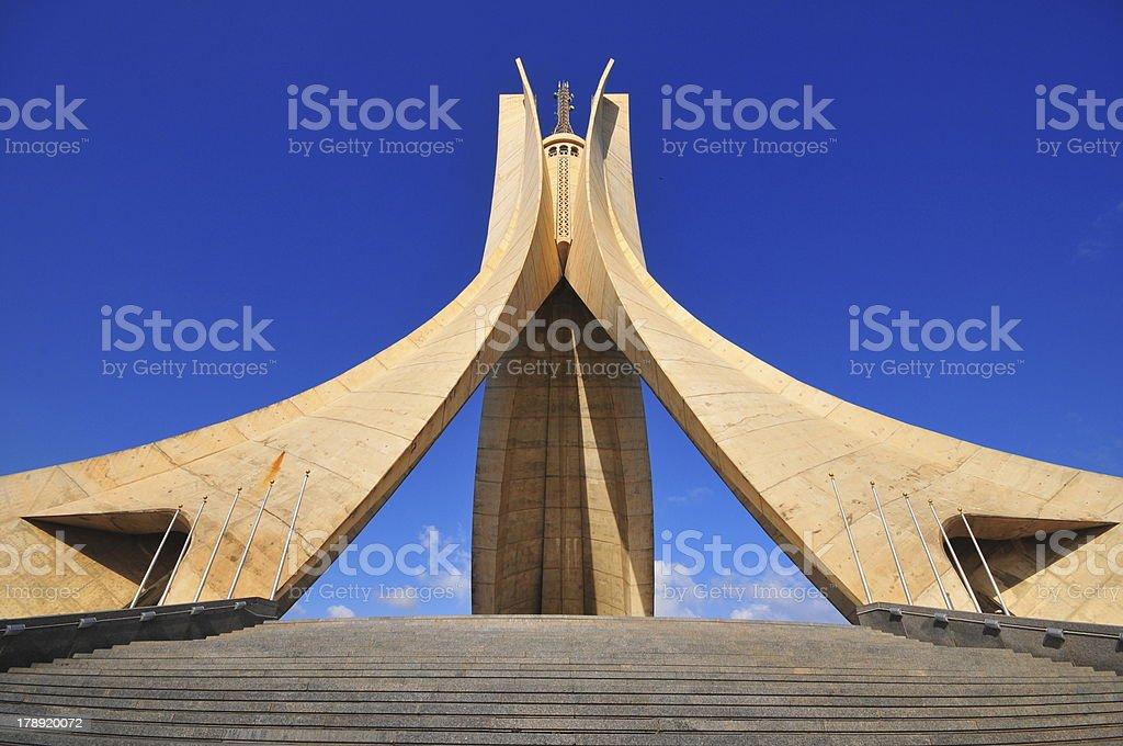 Alger, Algérie: Monument des Martyrs de la guerre de l'indépendance, en Algérie - Photo