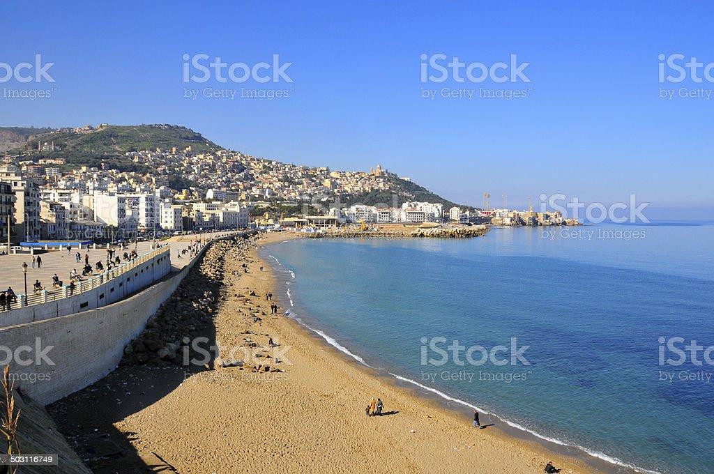 Alger, Algérie: Nelson beach - Photo