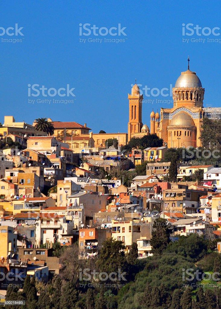 Alger, Algérie: Notre-Dame d''Afrique Basilique - Photo