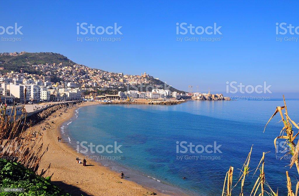 Alger, Algérie: Sur la plage - Photo
