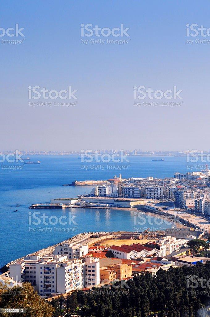 Alger, Algérie: La ville et la mer Méditerranée - Photo